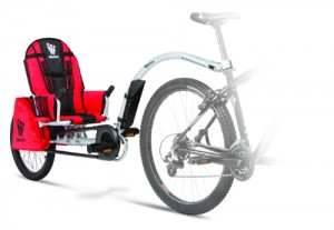 Cykeltrailer til almindelig cykel